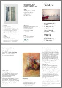 Ausstellung Stille